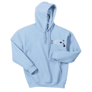 Bluza Hoodie Baby Blue